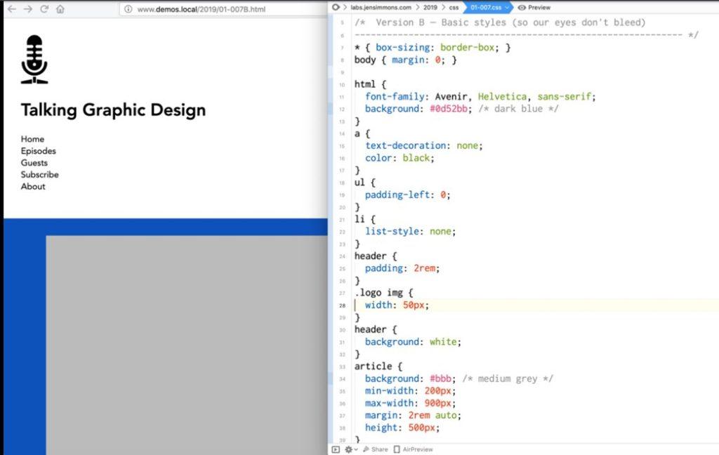 basic-html-layout-example